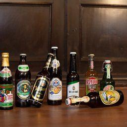 angebotenes Bier