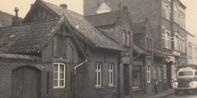 Altes Bild vom Firmengebäude in Lüchow.